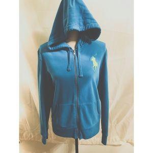 Ralph Lauren zip up long sleeve jacket